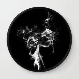 Smoke and Mirrors Wall Clock