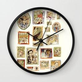 Jurassic Park Portrait Wall Wall Clock