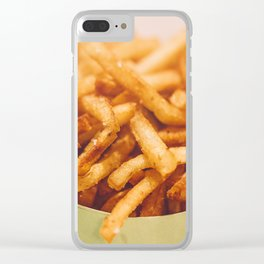 Fries in French Quarter, New Orleans Clear iPhone Case