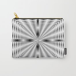 Into the Tunnel - Optical Illusion Carry-All Pouch