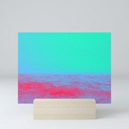 Neon Sea Mini Art Print