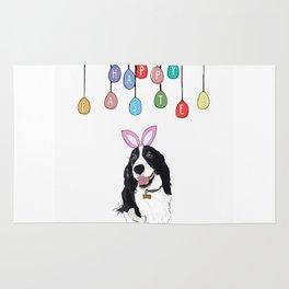 Happy Easter - Springer Spaniel Rug