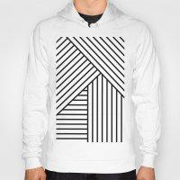 stripes Hoodies featuring Stripes by elena + stephann