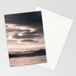 Lenticular Clouds Stationery Cards