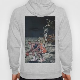 Space Ball - Vintage Collage Hoody
