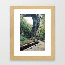 Take me to a moment Framed Art Print