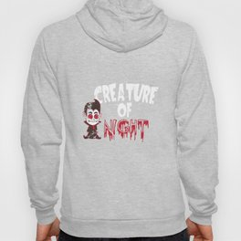 Vampire Creature Of The Night Halloween Hoody