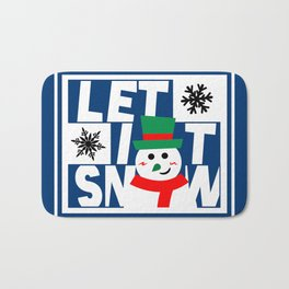 Let it Snow! Bath Mat
