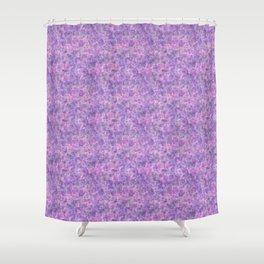 drops on purple Shower Curtain