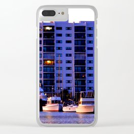 Waterfront Condos Clear iPhone Case