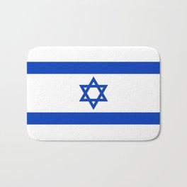 Israel Flag - High Quality image Bath Mat