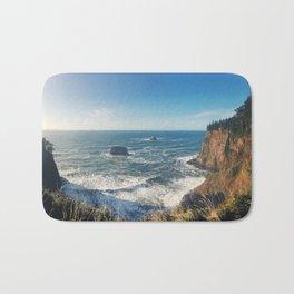 The Sunny Oregon Coast Bath Mat