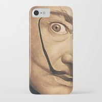 dali iPhone & iPod Cases featuring Dali by Fantastikat