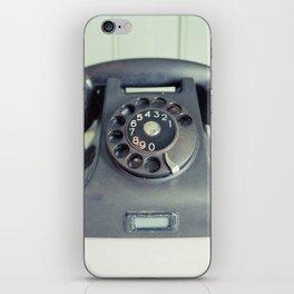 Old Rotary Telephone iPhone Skin