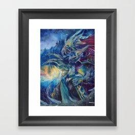 Dragonknight Framed Art Print