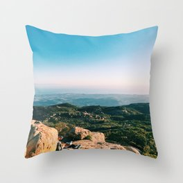 Lizards Mouth Throw Pillow