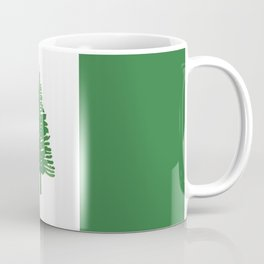 Norfolk Island flag emblem Coffee Mug
