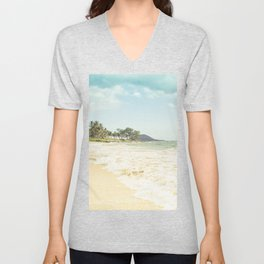Polo Beach Maui Hawaii Unisex V-Neck