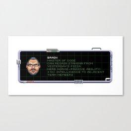 Brain of the Team Canvas Print