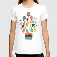 plant T-shirts featuring Potted Plant 4 by Picomodi