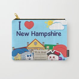 Ernest and Coraline | I love New Hampshire Carry-All Pouch