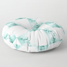 Catch me (The Rape of Proserpina revisited) Floor Pillow