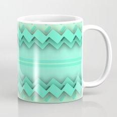 Mint paper zigzag Mug