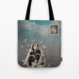 The Concrete Room Tote Bag