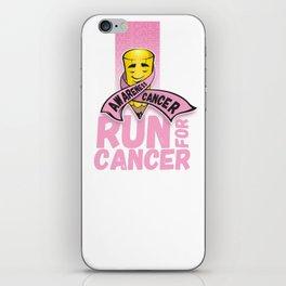 Run for Cancer, Cancer Awareness iPhone Skin