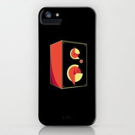 Box Speaker Abstract iPhone Case