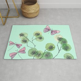 a touch of summer fragrance Rug