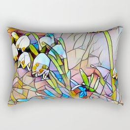 Snowdrop Rectangular Pillow