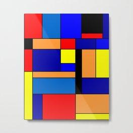 Mondrian #2 Metal Print