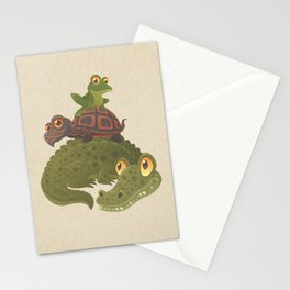 Swamp Squad Stationery Cards