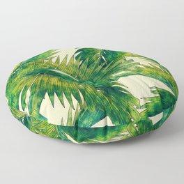Palms #palm #palms #flower Floor Pillow