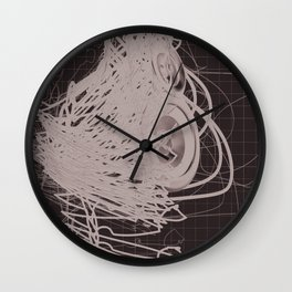 Abstruction Wall Clock
