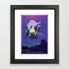 Vintage FF Poster IV Framed Art Print