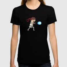Hadouken! Womens Fitted Tee Black SMALL