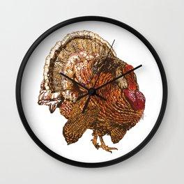 Turkey (Color) Wall Clock