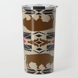 American Native Pattern No. 180 Travel Mug