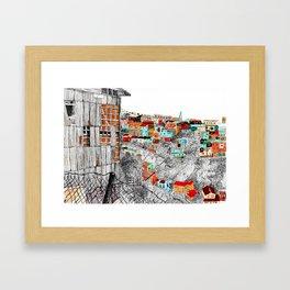 Valparaíso Framed Art Print