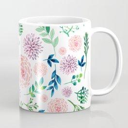 Watercolour Flowers and Nature Coffee Mug