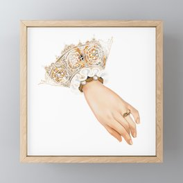 Chequer's Ring of Elizabeth I Framed Mini Art Print