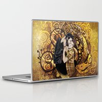 sterek Laptop & iPad Skins featuring The Sterek Kiss by MGNemesi