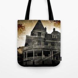 Haunted Hauntings Series - House Number 4 Tote Bag