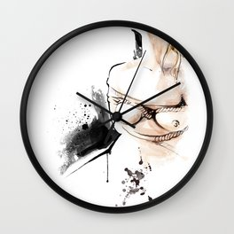 Shibari - Japanese BDSM Art Painting #14 Wall Clock