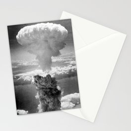 Mushroom Cloud Over Nagasaki Stationery Cards