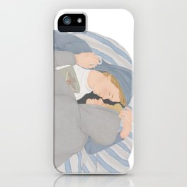 Isak & Even illustration | Skam, Evak iPhone Case