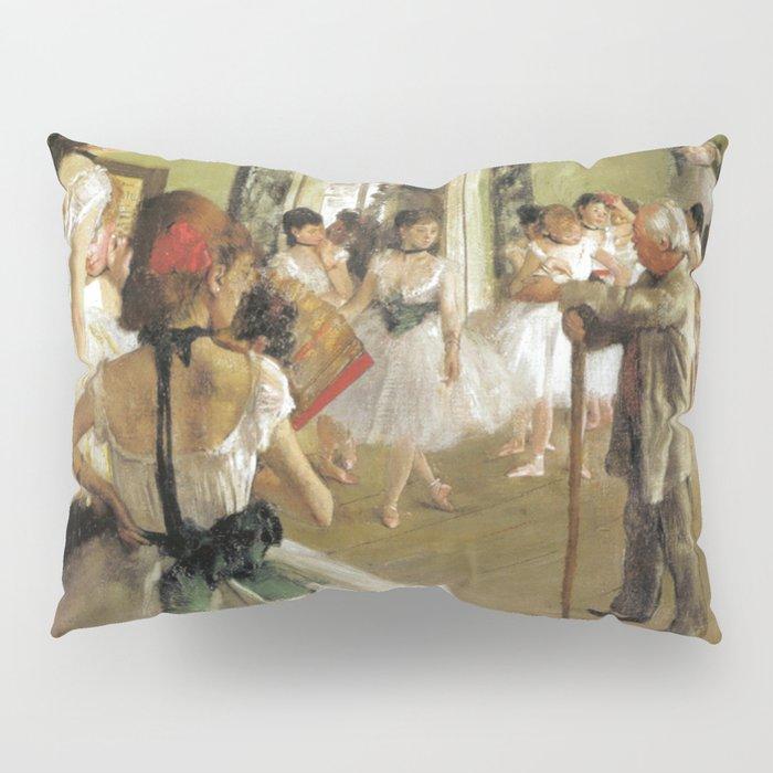 Edgar Degas The Dance Class Pillow Sham
