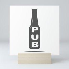Pub Beer Brewery Handcrafted style Fashion Modern Design Print! Mini Art Print